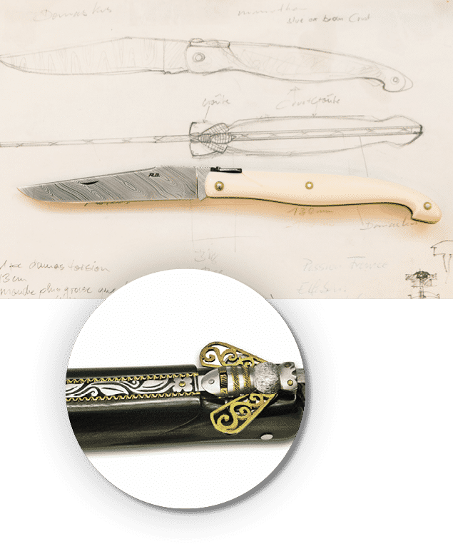 Laguiole Sammlermesser Jubiläumsmesser